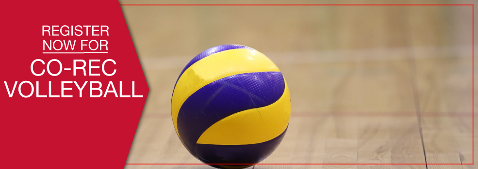 Register for Co-Rec Volleyball
